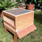 Queen excluder, a kind of cattle stop type grill which the queen cant fit through. Its to prevent her to access the supers, to ensure she lays eggs in only one area - the brood box