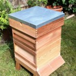 and all topped off with the hive roof.