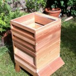 a second super added - you can keep adding supers, to give the bees enough room to keep storing honey