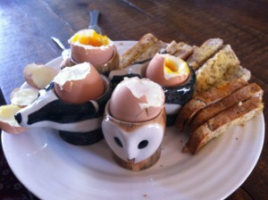 Carefully prepared, eggs with toast soldiers can remove the disappointment from your Sunday morning breakfast